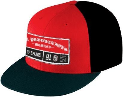 SRH - PATCHED UP SNAPBACK HAT BLACK