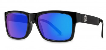 FILTRATE -  JOHN BROWN GLOSS BLACK/BLUE MIRROR POLARIZED