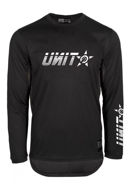 UNIT - CASE MX JERSEY BLACK