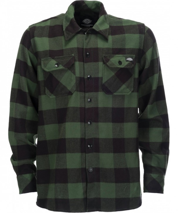 DICKIES - SACRAMENTO FLANNEL GREEN