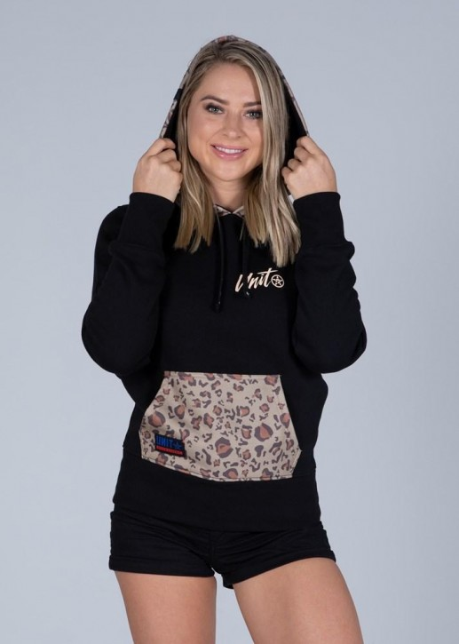 UNIT - MIST LADIES HOODIE BLACK