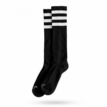 AMERICAN SOCKS - BACK IN BLACK KIDZ KNEE HIGH