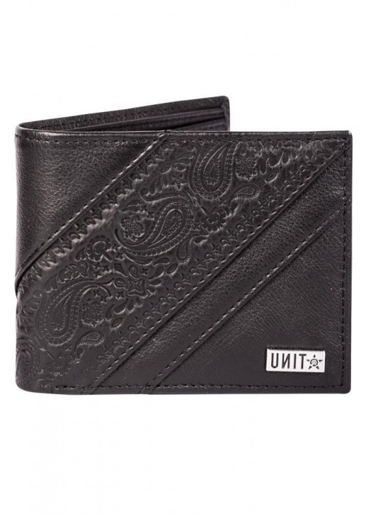 UNIT - UNIFIED LEATHER WALLET BLACK