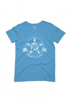 UNIT - YOUTH SALVAGE TEE BLUE