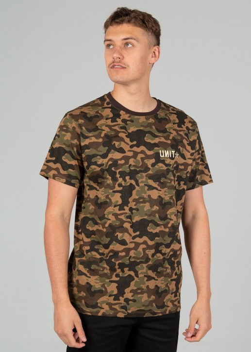 UNIT - GROUNDERS TEE CAMO