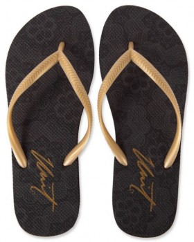 UNIT - ACACIA LADIES FLIP FLOP BLACK