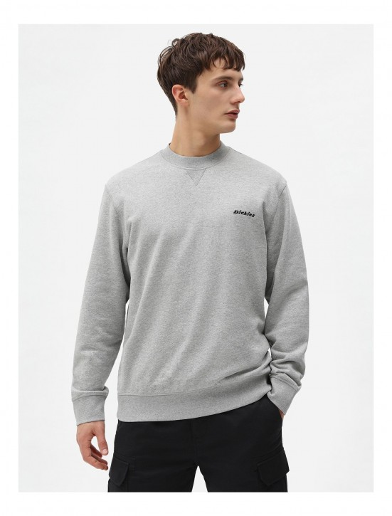 DICKIES - LORETTO SWEATSHIRT GREY MELANGE