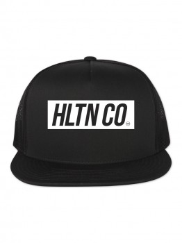 HLTN - SUPER HAT BLACK/WHITE