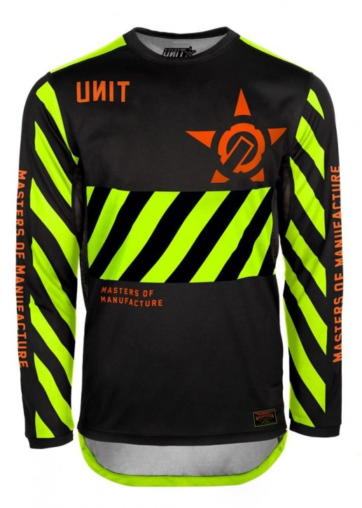 UNIT - HAZARD MX JERSEY YELLOW