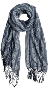 ROXY - TRUE ROMANCE FRINGED SCARF ONE SIZE