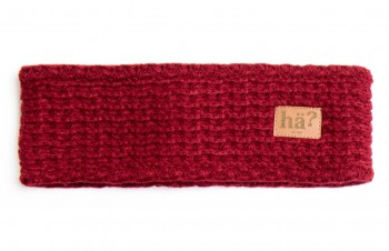 HÄ - UNI HEADBAND BORDEAUX