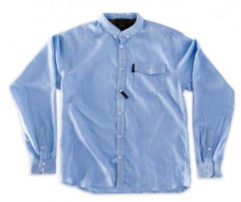 RED DRAGON - KENSINGTON L/S BUTTON UP BLUE