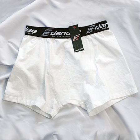 DANDEE - MBS Classic White Boxer Shorts