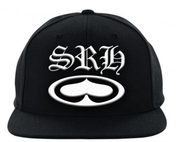 SRH - OLD E FITTED HAT BLACK