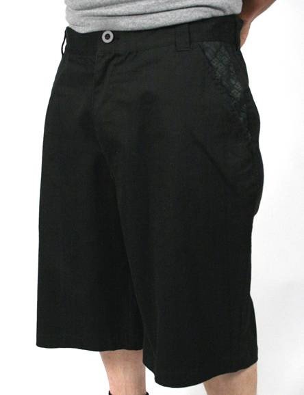 SRH - FORMULA WALK SHORTS BLACK