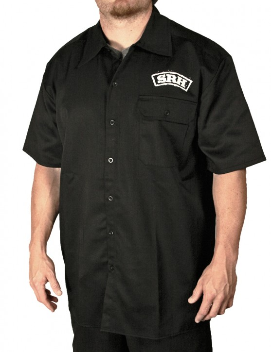 SRH - OUTLAW WORK SHIRT BLACK