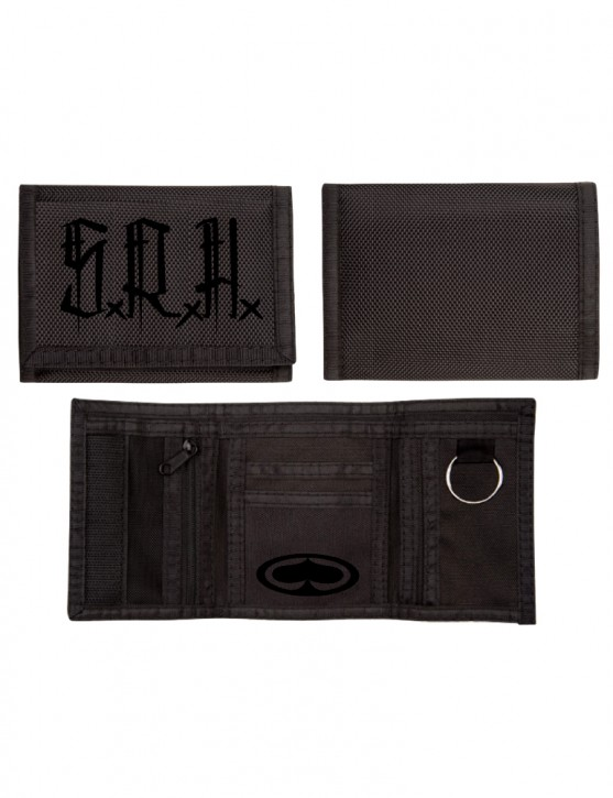 SRH - BRUSH STAMP NYLON WALLET