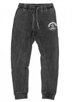 UNIT - METHOD TRACK PANT ACID BLACK