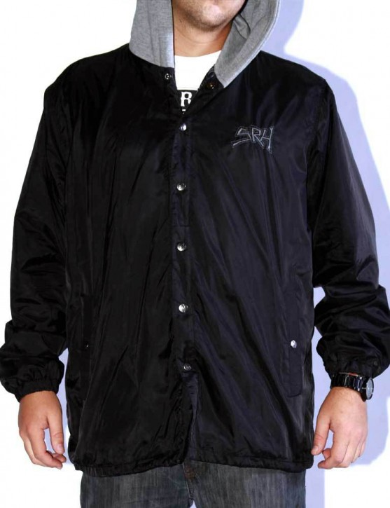 SRH - ROAD RAGE COACHES JACKET BLACK