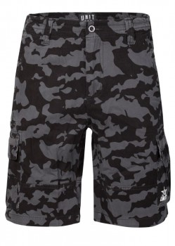 UNIT - COMMAND CARGO WALKSHORT CAMO