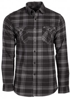 UNIT - OUTPOST FLANNEL BLACK S