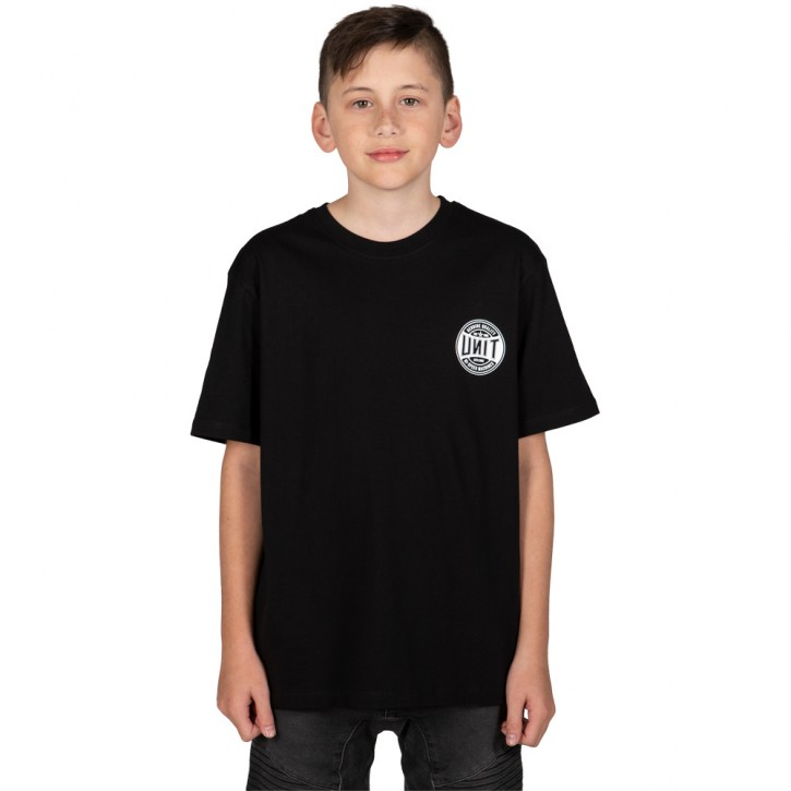 UNIT - SKITS YOUTH TEE BLACK