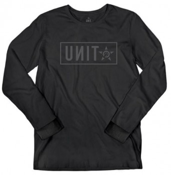 UNIT - STAND L/S TEE BLACK XL