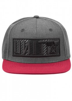 UNIT - RAIDED SNAPBACK BURGUNDY