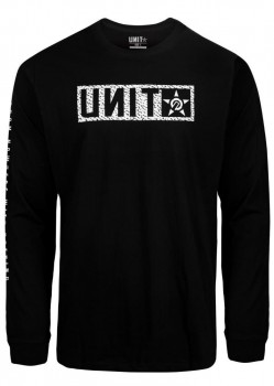 UNIT - HUNTER L/S TEE BLACK