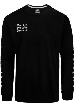 UNIT - ARCHIVES L/S TEE BLACK