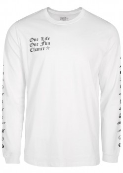 UNIT - ARCHIVES L/S TEE WHITE