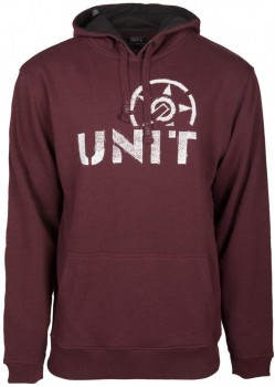 UNIT - BATTLEFIELD HOODY BURGUNDY