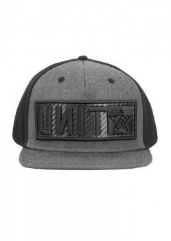 UNIT - RAID FLAT PEAK CAP BLACK ONE SIZE