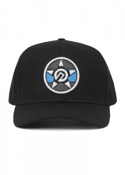 UNIT - REVOLUTION CURVE PEAK SNAPBACK BLACK ONE SIZE