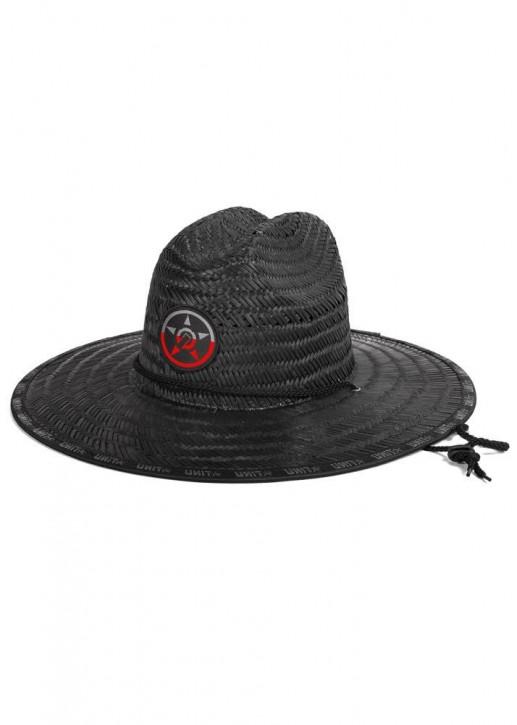 UNIT - TURBINE STRAW HAT BLACK