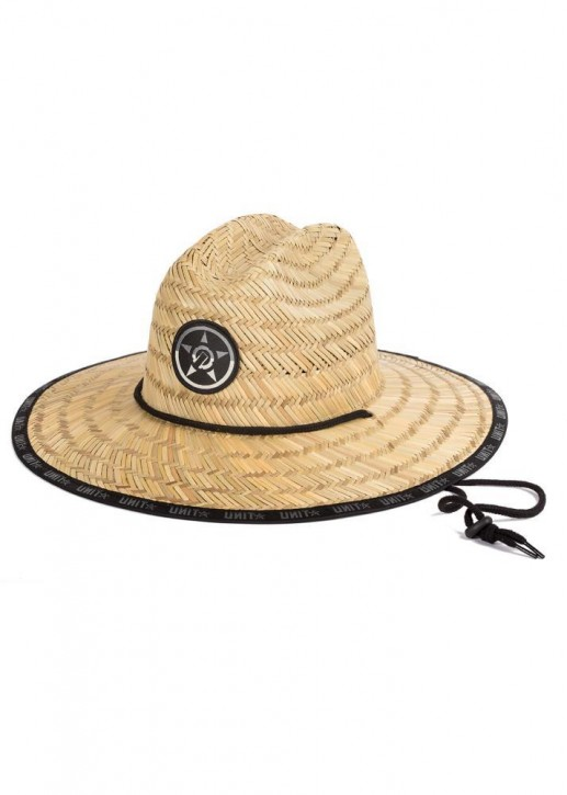 UNIT - TURBINE STRAW HAT NATURAL