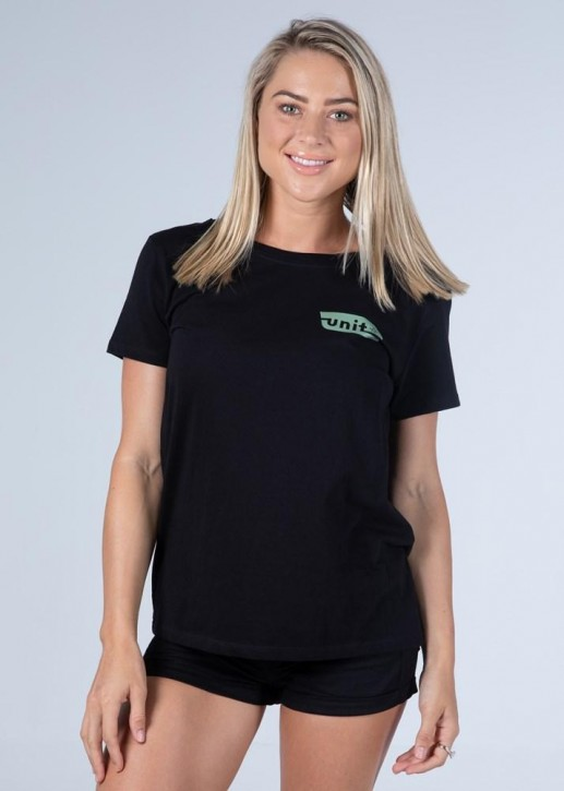 UNIT - DIZZY LADIES TEE BLACK