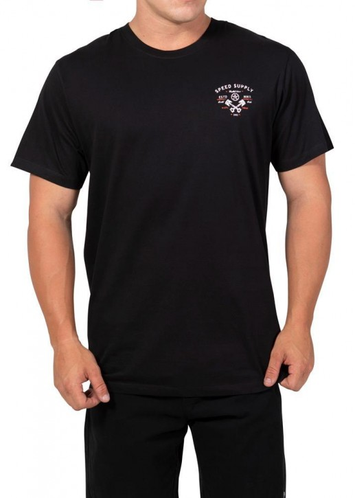 UNIT - FINISHLINE TEE BLACK