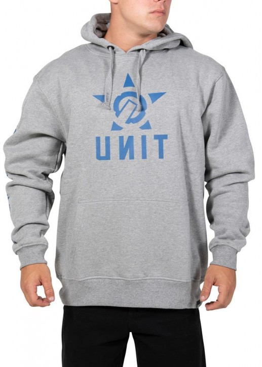 UNIT - BALLISTIC HOODY GREY MARL