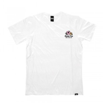 SHOCK MANSION - HAVE A NICE DAY TEE WHITE