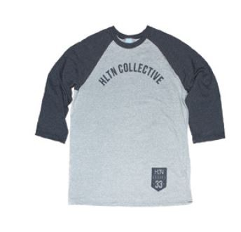 HLTN - CH33RS RAGLAN HEATHER GREY