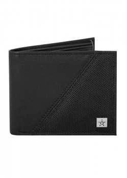 UNIT - DIVIDED WALLET BLACK ONE SIZE