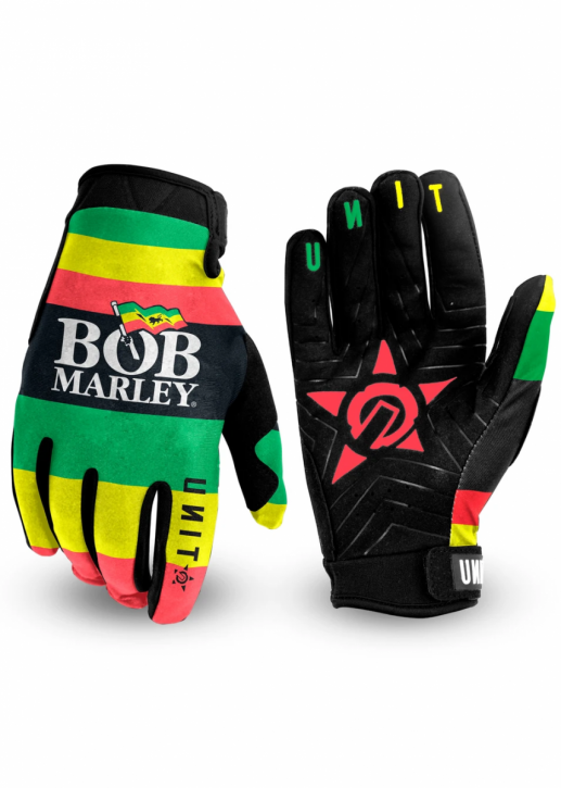 UNIT - GET UP STAND UP GLOVES RASTA