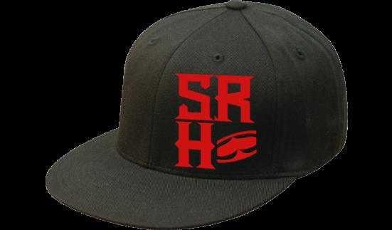 SRH - FOUNDATION FLATBILL FLEXFIT HAT BLACK