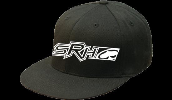 SRH - TRAXX FLATBILL FLEXFIT HAT BLACK