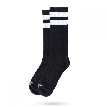 AMERICAN SOCKS - BACK IN BLACK I MID HIGH ONE SIZE