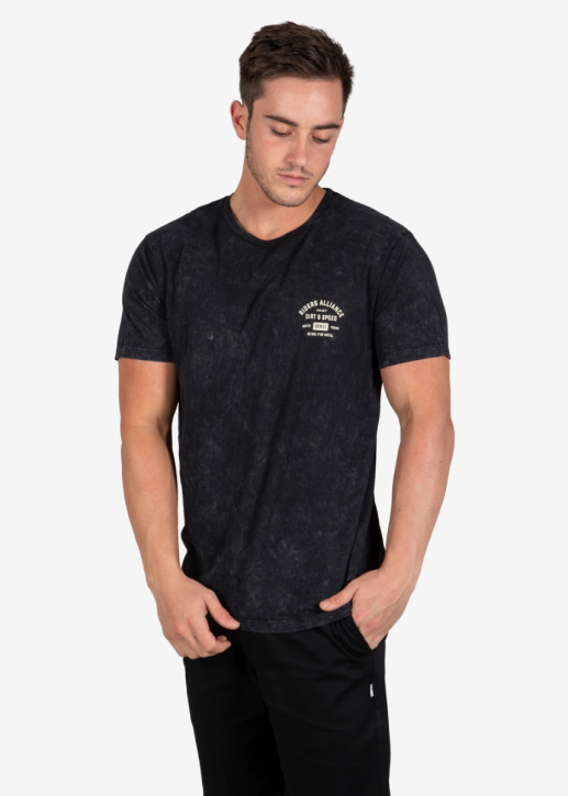 UNIT - FORTE TEE STONEWASH BLACK