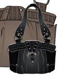 UNIT - REPLICA SHOULDER BAG BLACK