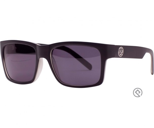 FILTRATE - JOHN BROWN BLACK GLOSS/GREY SMOKE POLARIZED LENS ONE SIZE