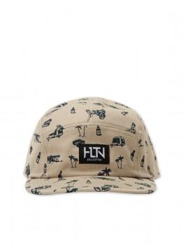 HLTN - BONDI CAP KHAKI